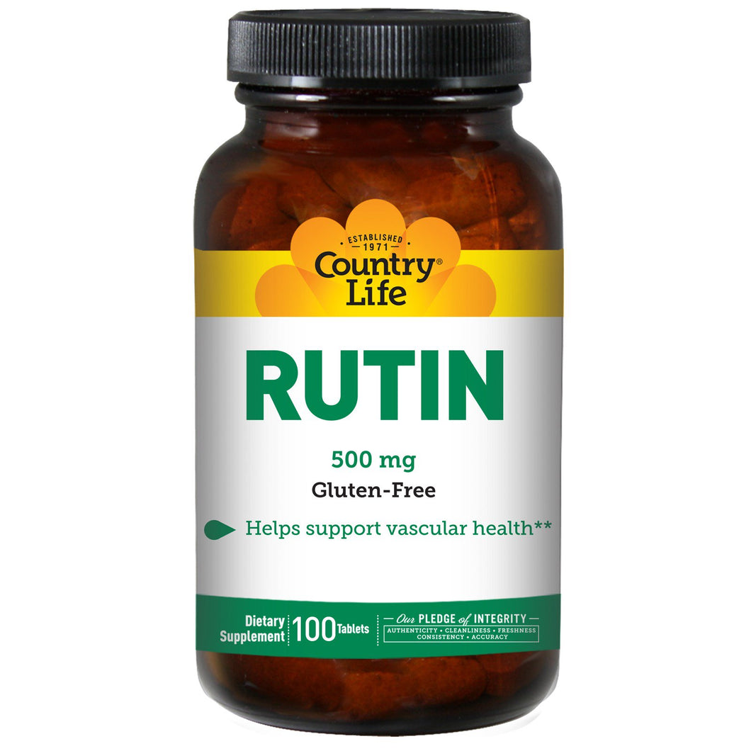 Country Life - Rutin - 100 Tablets