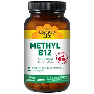 Country Life - Methyl B12 (Sublingual)
