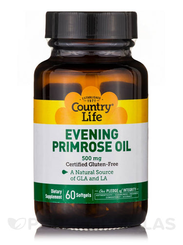 Country Life - Evening Primrose Oil - 60 Softgels