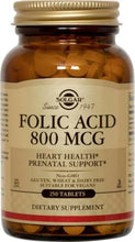 Solgar - Folic Acid - 100 Vegetable Capsules
