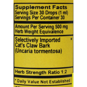 Uncle-Sams-Health-Food-Good-And-Natural-USGNP-Herbal-Supplements-Tinctures-Cats-Claw