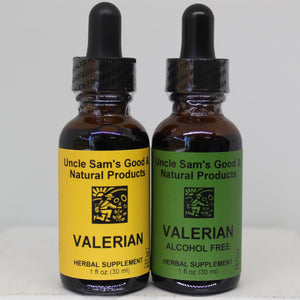 Uncle-Sams-Health-Food-Good-And-Natural-USGNP-Herbal-Supplements-Tinctures-Valerian-Sleep-Support