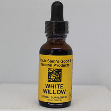 Uncle-Sams-Health-Food-Good-And-Natural-USGNP-Herbal-Supplements-Tinctures-White-Willow-Anti-Inflammation-Pain-Relief