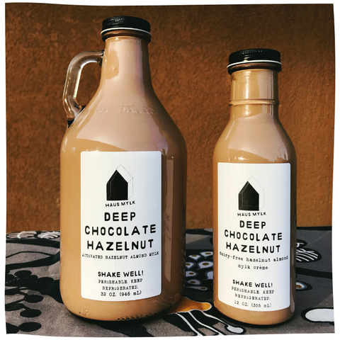 Haus Mylk Deep Chocolate Hazelnut
