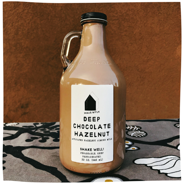 Haus Mylk Deep Chocolate Hazelnut 32 oz.