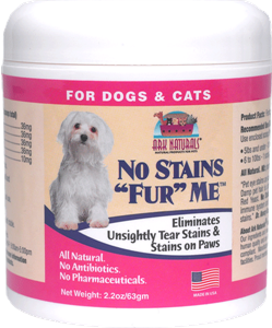 "Ark Naturals No Stains ""Fur"" Me for Dogs and Cats"