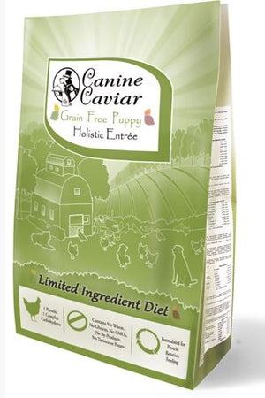 Canine Caviar Grain Free Puppy Holistic Entree Dry Dog Food
