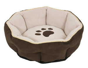 Aspen Pet Sculptured Round Pet Bed