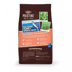 Castor and Pollux Pristine Grain Free Wild Caught Salmon and Chickpea Recipe Dry Dog Food