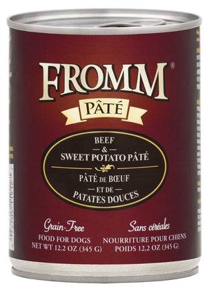 Fromm Gold K9 Beef Sweet Pot Pate