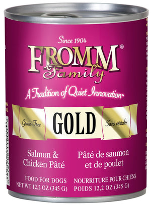 Fromm Gold K9 Salmon and Chicken Pate