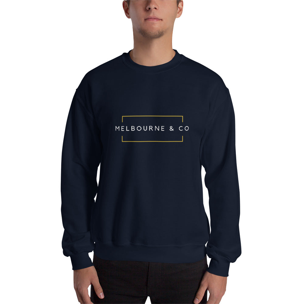Melbourne & Co Sweatshirt - Navy Blue