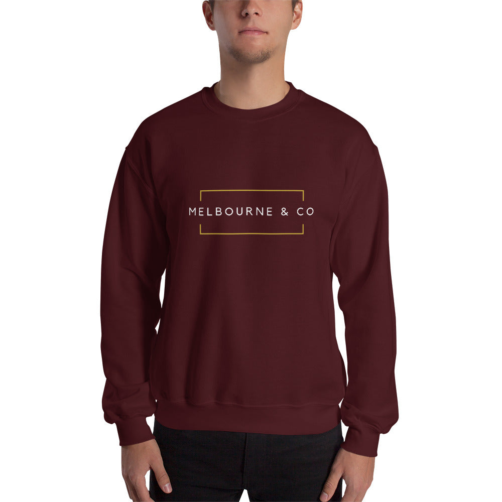 Melbourne & Co Sweatshirt - Maroon