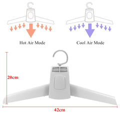2 in 1 Electric Clothes Dryer Hanger