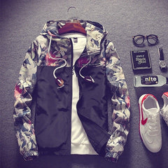 Streetwear Bomber Military Windbreaker