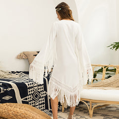 Bohemia Fringed Maxi Dress