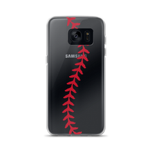 Softball Stitch Samsung Case - Clear