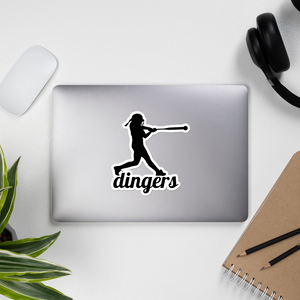 Dingers Sticker