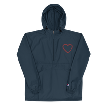 Embroidered Softball Heart Champion Jacket