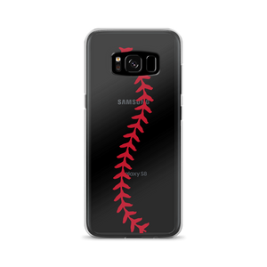 Softball Stitch Samsung Case