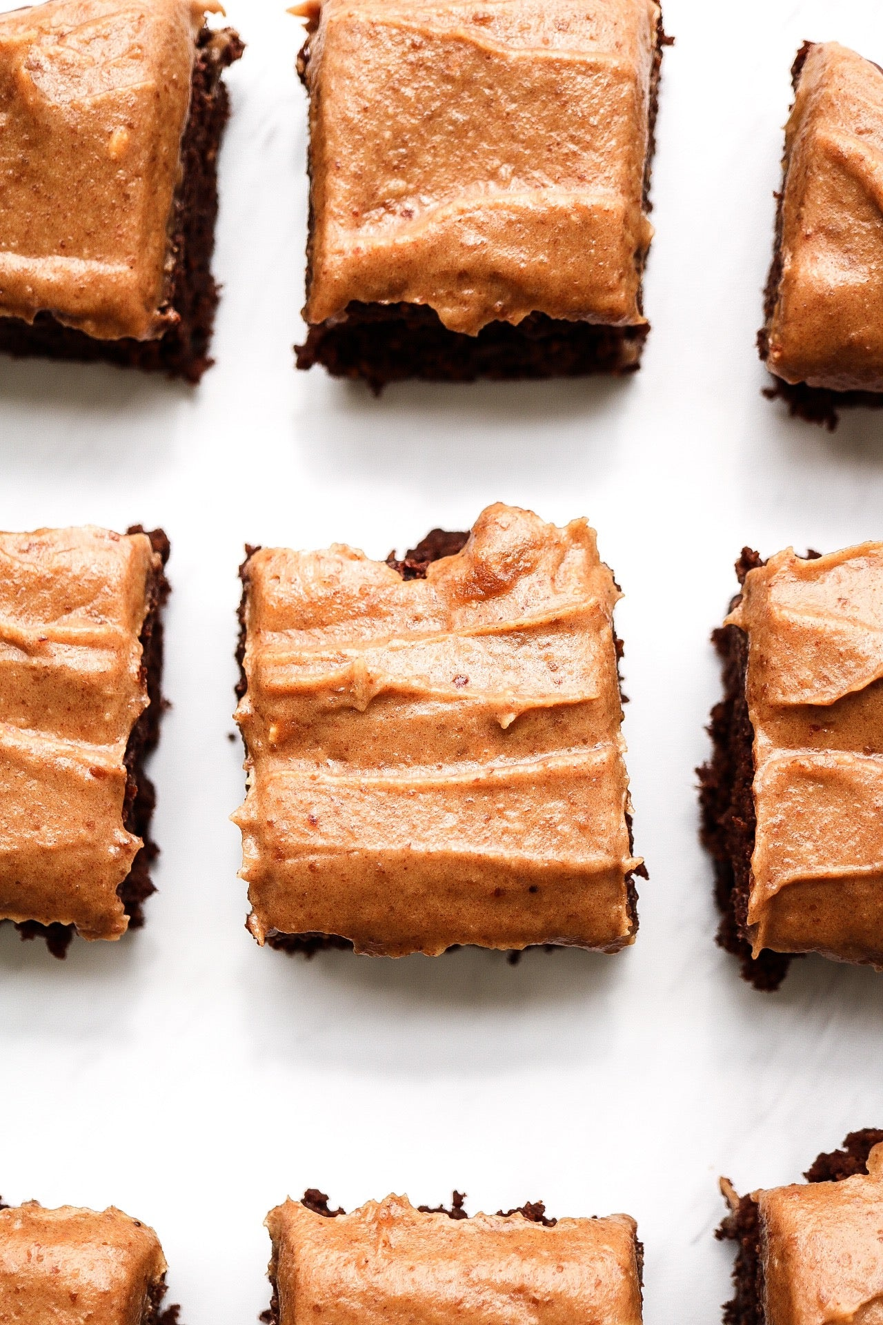 Date Sweetened Chocolate Peanut Butter Brownies Article