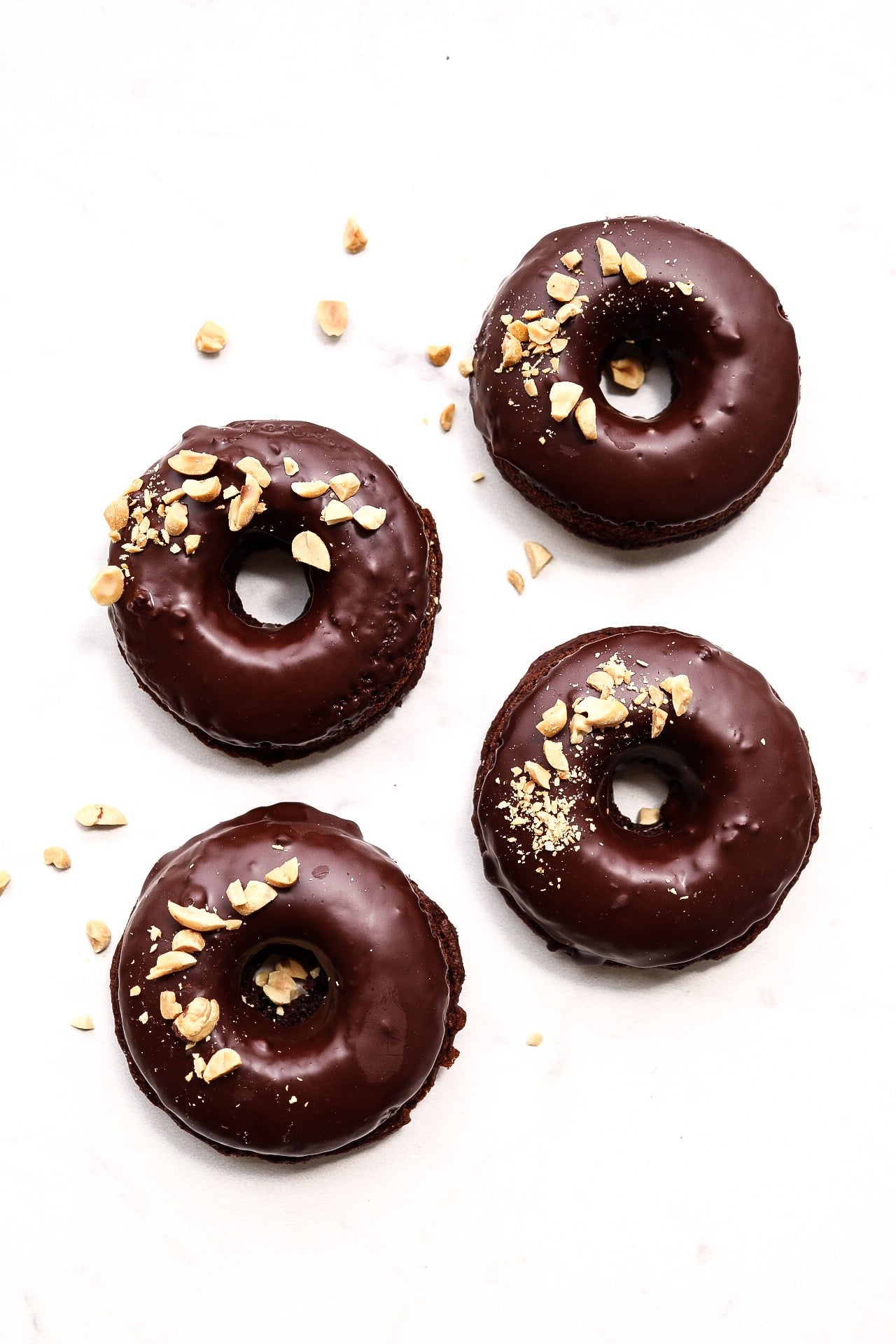 Chocolate Peanut Butter Donuts Article
