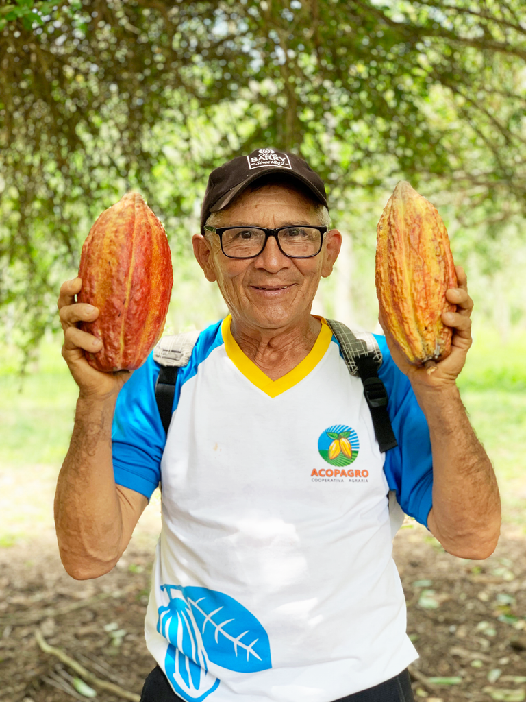 Gilberto, our cacao farmer at ACOPAGRO in Peru