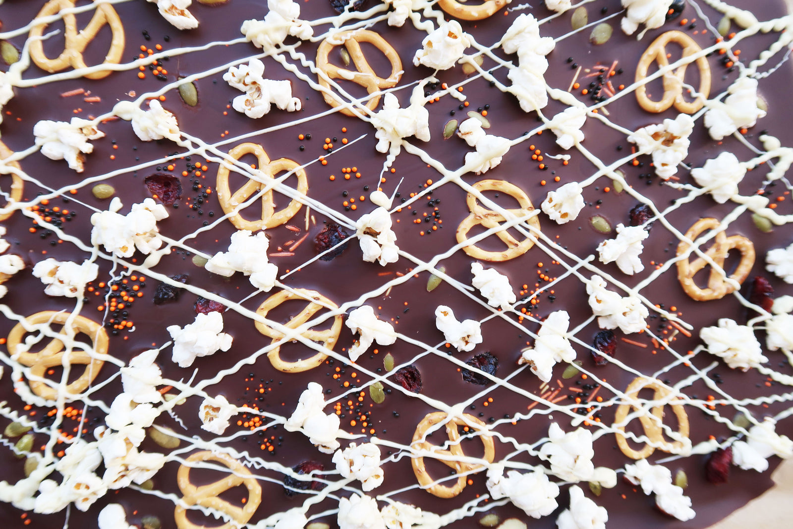 Vegan Chocolate Halloween Bark Article