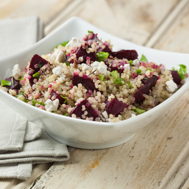 Quinoa and Roasted Beet Salad Article
