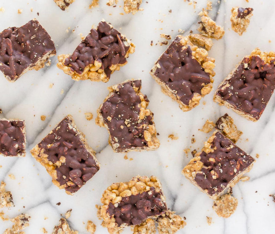 Chocolate Covered Rice Krispie Treats