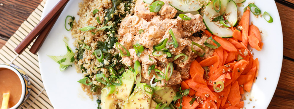 Spicy Tuna Quinoa Sushi Bowl Article