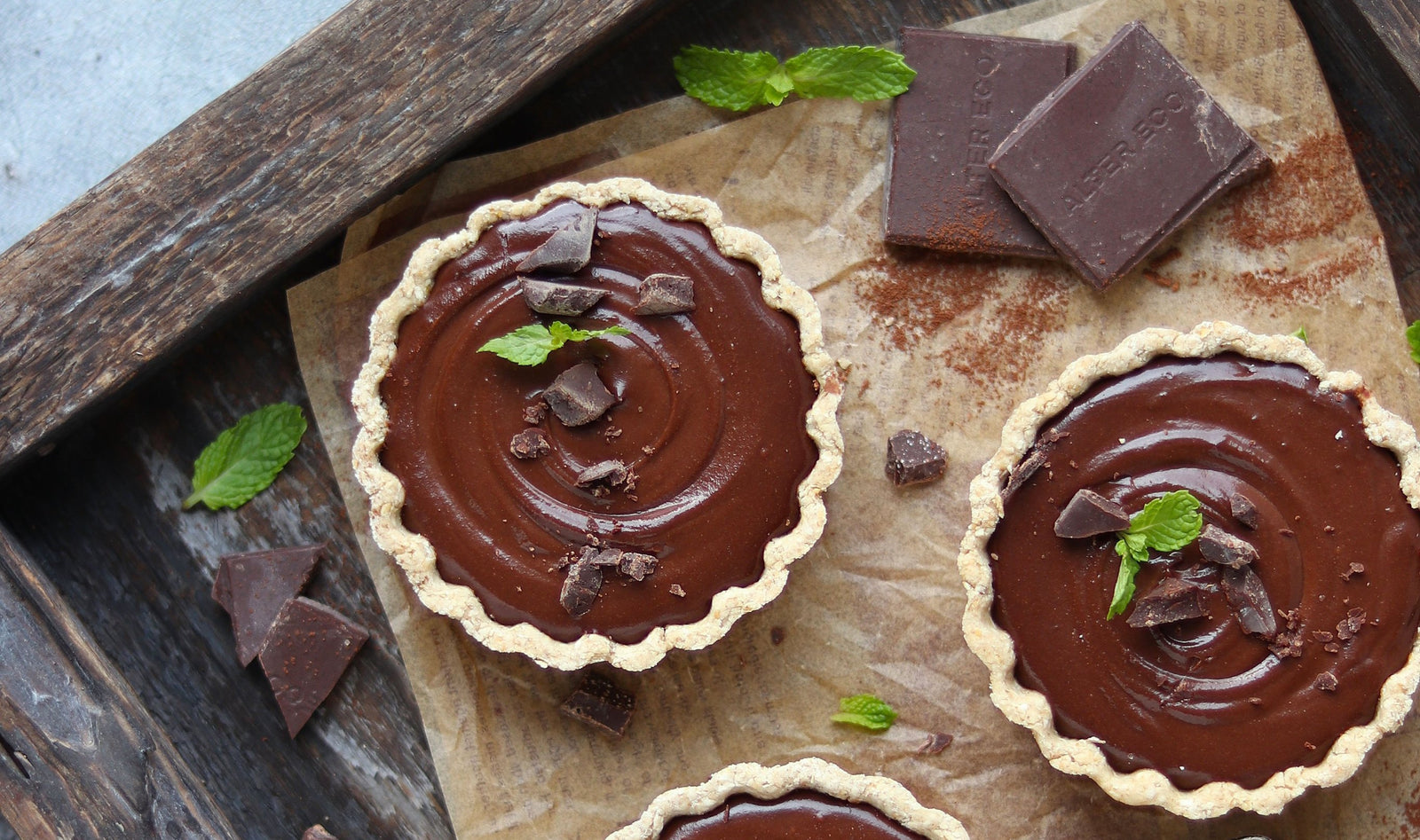 Chocolate Mint Tarts Article