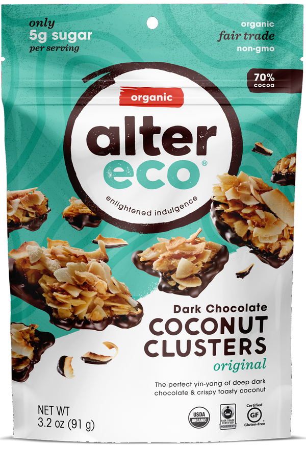 Original Coconut Clusters Package