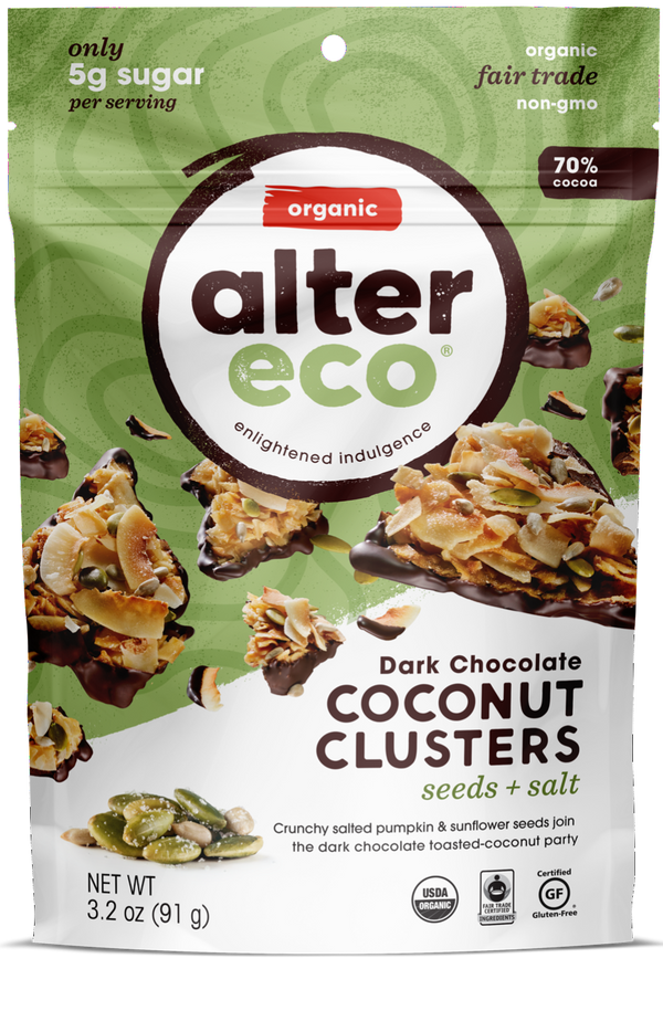 Seeds & Salt Coconut Clusters Package
