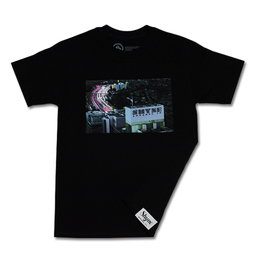 City Freeway Lights Tee (Black)