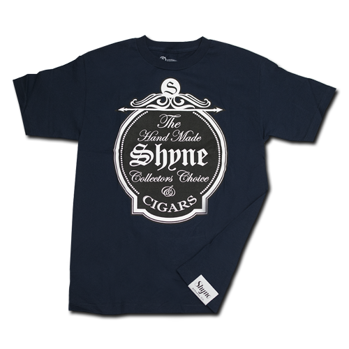 Shyne Cigars Tee (Navy Blue)