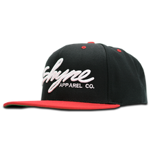 Shyne Signature Snapback (Red on Black)