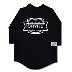One Step Ahead Raglan (Black)