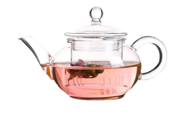 Glass Teapot 250ml with a separate glass filter