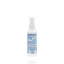 Load image into Gallery viewer, 60mL Northwest Biotechnology 75% Ethyl Alcohol Hand Sanitizer