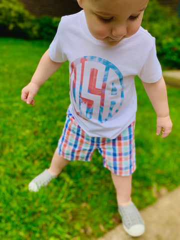USA Tie Dye Tee (Toddler & Adult)