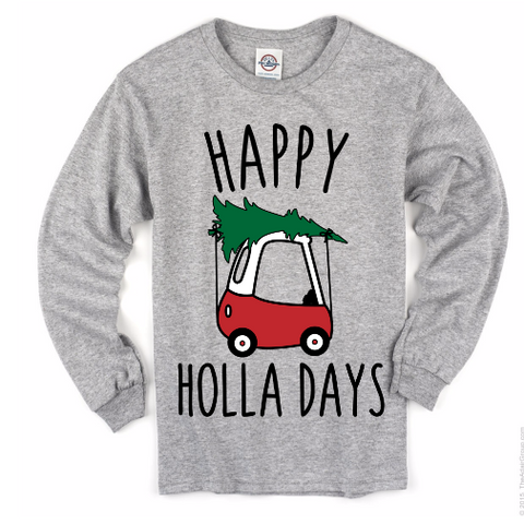 Happy Holla Days Tee