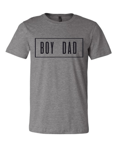 BOY DAD. (Gray)