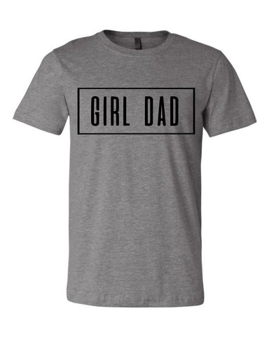 GIRL DAD. (Gray)