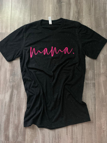 mama. multicolor triblend tee XS