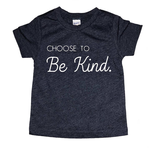 Choose to be kind Toddler (Navy)