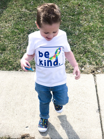Be Kind Autism Awareness Tee