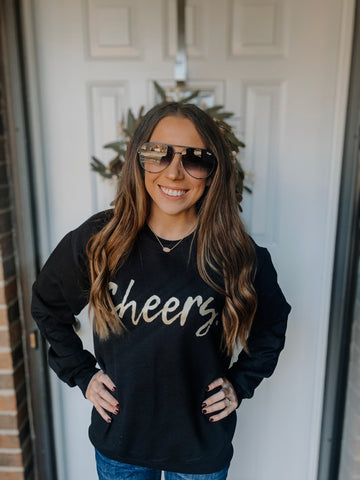 CHEERS sweatshirt (Gold)