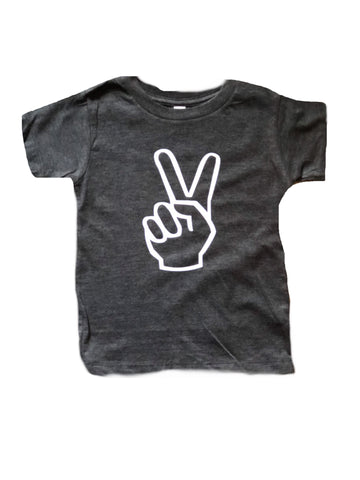 Peace sign Tee, 2 Tee, Birthday Tee, I'm Two