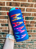 MAMA Tie Dye Slim Can Cooler